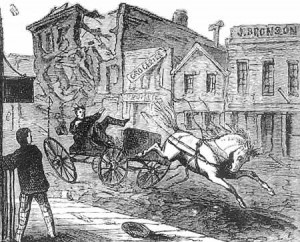 Illustration from first edition of ROUGHING IT