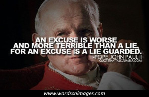 quotes picture pope john paul ii quote about future