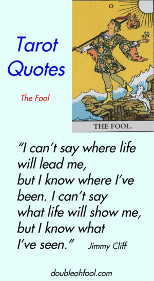 Tarot Quotes: The Fool