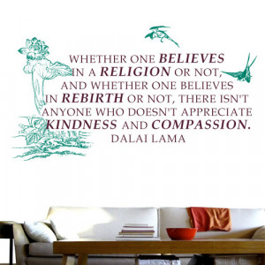 Appreciate Kindness and Compassion