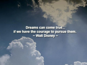 ... of your dreams. Live the life you have imagined. ~ Henry David Thoreau