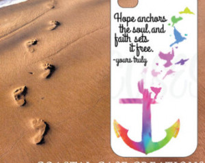 Anchor Quotes From The Bible Anchor tie dye bible quote