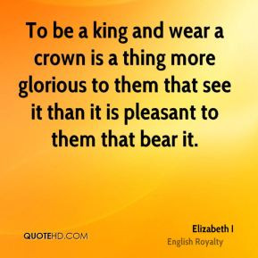 Quotes About Kings and Crowns