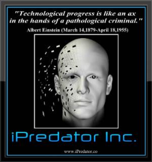 albert einstein technology quote snopes