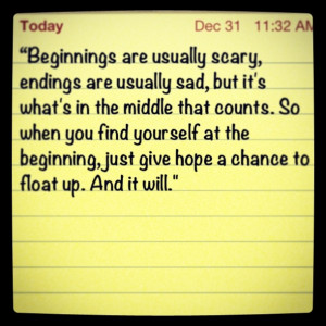 Hope Floats Quotes Pin it. like. hope