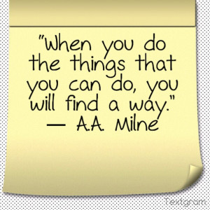quotes from A.A. Milne