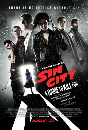 New 'Sin City: A Dame To Kill For' Poster Showcases Jessica Alba ...
