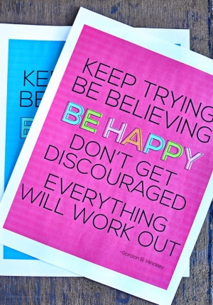 Influential image inside printable encouragement cards