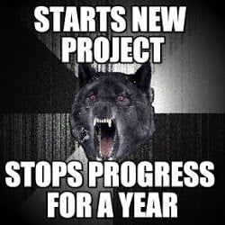 Insanity Wolf : Starts New Project, Stops Progress For A Year - by ...
