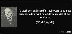 More Alfred Korzybski Quotes