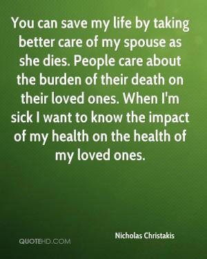 Nicholas Christakis Death Quotes