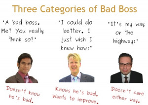 Categories Of A Bad Boss