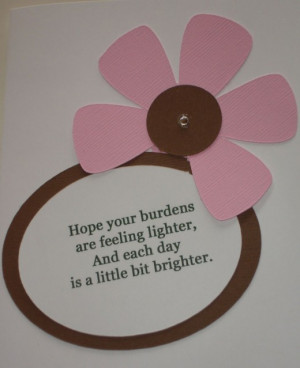 Make Your Own Cards using Quotes and Simple Paper Crafting Techniques