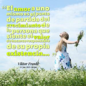Quotes Picture: el amor a uno mismo es el punto de partida del ...