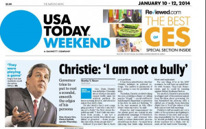 Chris Christie Not a Bully
