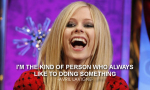 Avril Lavigne Quotes Her Pict