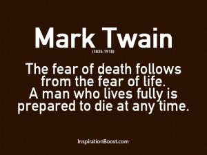 About Life And Death Quotes
