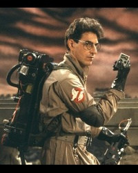 Dr. Peter Venkman: Someone blows their nose and you want to keep it ...
