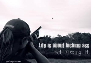 skeet shooting trap clay quotes hunting firearms guns women family hot