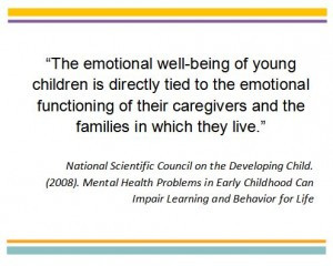 ... relationships with adults in order to develop social-emotional skills