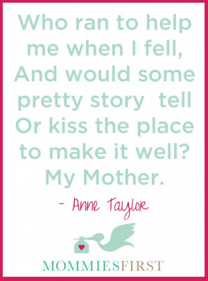 beautiful quote on Mothers! | www.mommiesfirst.com | a subscription ...