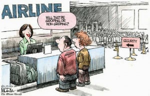 Funny Political Cartoons about TSA Pat Downs