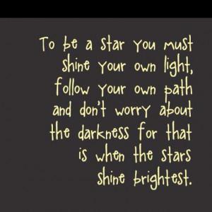 star shine, star bright