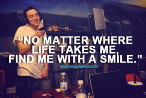 cute, mac miller, quotes, smile