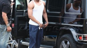 Nick Cannon drives Mercedes-Benz G-Wagon