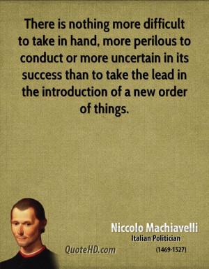Niccolo Machiavelli The Art Of War Quotes Niccolo machiavelli italian