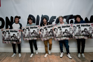 One Direction Celebrate Selling 12m Records In Less Than A Year (PIC)