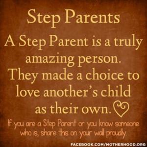 Adoptive parents, rule too.