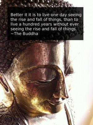 This Genuine Buddha Quote