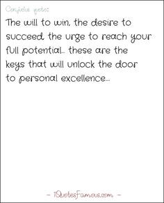 Famous motivational quotes - Confucius - The will to win, the desire ...