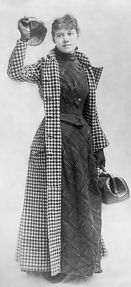 Nellie Bly, journalist and adventurer, 1890