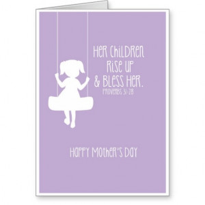 Mother Bible Verses Mother's day card bible verse