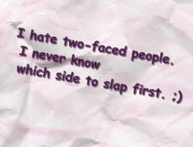 Quotes about Two_Faced_People