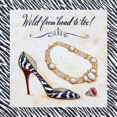 Wild from head to toe – Angela Staehling More