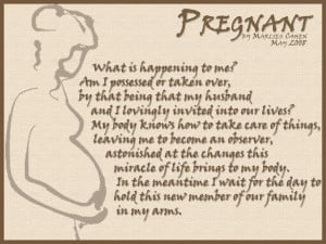 pregnant poem by Marlies Cohen 2008