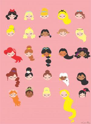 Disney Princess by Louise-Rosa