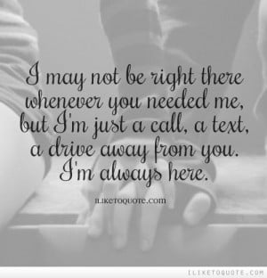 am Always Here For You Quotes i 39 m Always Here