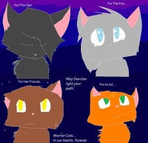 Warrior Cat Quotes Warrior Cats Tribute The