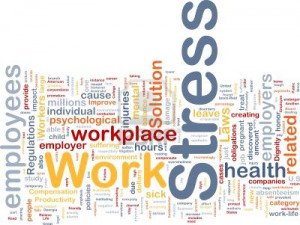... workplace. Let's face it. Work can be stressful at times and stress