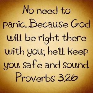 Don't Panic....