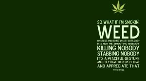 So What If I Smoke Weed?
