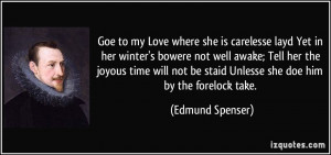 More Edmund Spenser Quotes