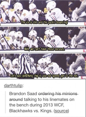 Brandon Saad in the Stanley Cup Playoffs!