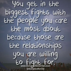 Pushing People Away In Relationships | Willing to Fight For Quotes