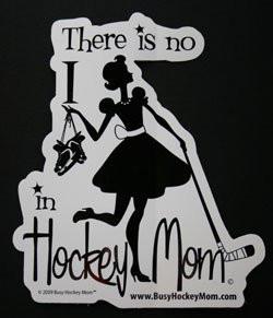 Hockey Mom Car decal !