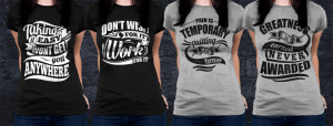 Motivational Quotes For Athletes - Womens Workout Shirts